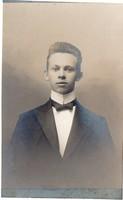 Érettségiző fiatal a Ciszterci Gimnáziumból (Eger 1907-1911)