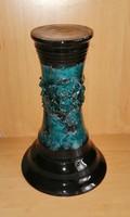 Kerámia virágtartó oszlop 32 cm (7p)