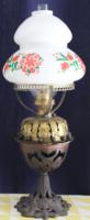 Régi asztali petróleum lámpa