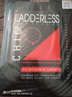 Fekete Ladderless XXL-es méretű harisnyanadrág