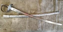 Monarchiás 1869M lovastiszti huszár szablya kard