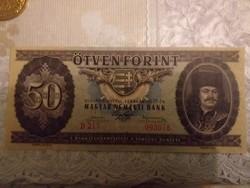 1947-es  50 Forint FANTÁZIA BANKJEGY