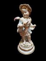Meisseni figura: Amorette leányka