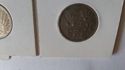 1927 25 centes és 1909 1 márkás eladó  6500ft ért