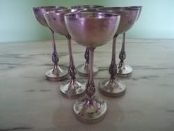 Antik ezüst vadász poharak