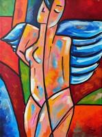 B. Preszecsán Hajnalka-festmény/vászon 40x30cm