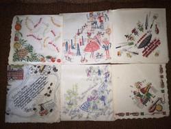 Szalvéta gyűjtemény 60-as évekből 250 féle