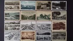 Határon túli magyar, régi képeslap-gyűjtemény