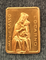 Madonna del Sasso emlék tárgy