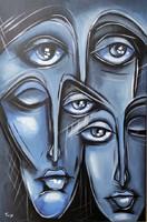 B. Preszecsán Hajnalka-festmény/vászon 60x40cm