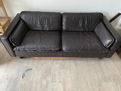 Bőr kanapé loft vintage industrial nagyon kényelmes