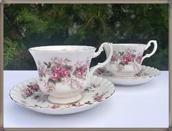Royal Albert Lavender rose teás csésze szettek