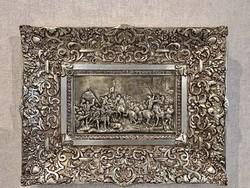 Ezüstözött falikép