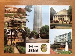 Jena városa képeslap