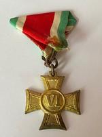Katonai Legénységi Szolgálati Jel VI év szolgálat után