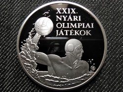 XXIX. Nyári Olimpiai Játékok - Peking .925 ezüst 5000 Forint 2008 BP PP (id40652)