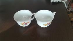 Zsolnay manó füles kávés csészék