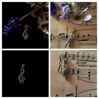 Medál - violinkulcs
