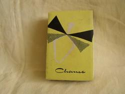 Régi parfümös doboz Chance de Steckenpferd