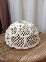 Régi kézműves  porcelán lampabúra