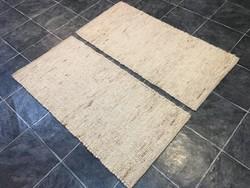 Kézi szővésű gyapjú szőnyeg - 2 db, 60 x 125 cm