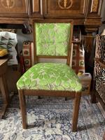 Szegecselt restaurált art deco szék!