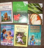 6 db romantikus regény McNaught, stb.