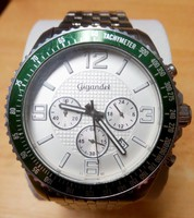 Gigandet Chronograph RACE KING Quartz, naptáras méretes Svájci férfi karóra.