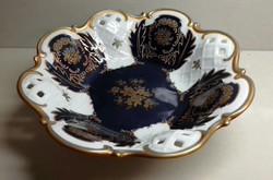 Reichenbach porcelán asztalközép tál