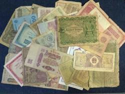 28 db vegyes külföldi bankjegy (id23728)