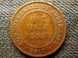 Ausztrália V. György 1/2 Penny 1917 I (id49205)