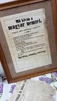 1848 Mit kíván a Magyar Nemzet 12 pont dokumentum