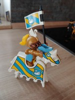 Playmobil páncélos lovag  1974 éves jelzéssel az alján... retro gyűjtői különlegesség