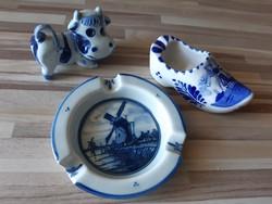 Delft holland kézzel festett porcelán.