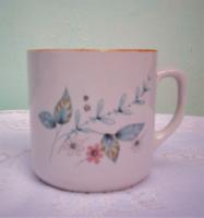 Régi ritka Zsolnay porcelán bögre