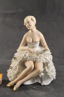 Német porcelán balerina 174