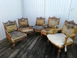 5db ónémet fotel