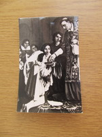 Régi egyházi fotó, kép (14x9cm)