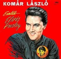 Komár László – Emlék - Elvis Presley bakelit lemez