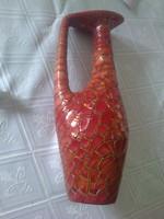 Zsolnay  füles váza ,1960