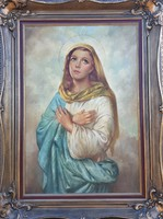 Hikádi Erzsébet, Czene Béláné / Madonna