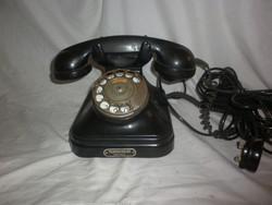 Háború előtti cb 35 tárcsás telefon telefongyár rt