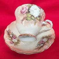 Meissen Biedermeier Tea-Kávés Csésze Szett