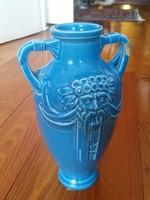 Zsolnay :Faunfejes, ritka váza