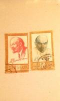 2db. Szovjet bélyeg 1961.