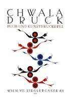 Bécsi szecesszió plakát reprint nyomat Klinger 1908 vicces osztrák nyomda reklám ördögök humor