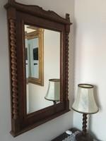 Koloniál fali tükör