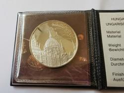 Koronázási ékszerek ezüst emlékérme,27 gramm