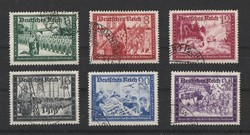 DEUTCHES REICH 1941 Charity stamps teljes sor
