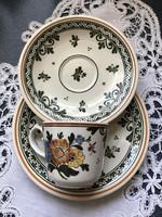 Pompás Alt Amsterdam Villeroy & Boch 3 részes csésze szett
